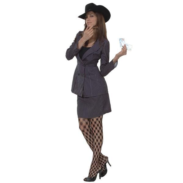 Gangster woman costume  sc 1 st  PartyNight & Gangster woman costume - PartyNight
