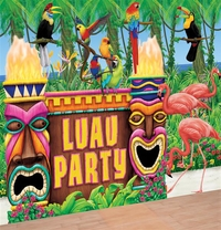 Cenário Luau Party