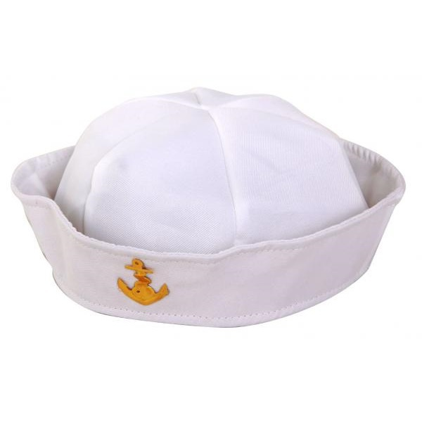 Chapéu Marinheiro Branco Com Âncora - PartyNight 379b174de23