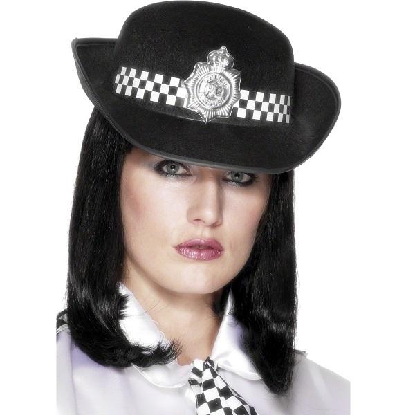 Chapéu Mulher Policia Inglesa - PartyNight d6432ede6a8
