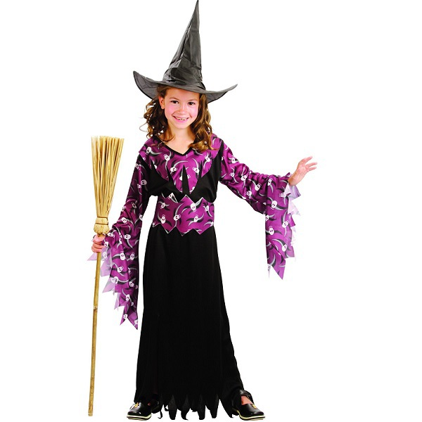 Gothic witch girl costume - PartyNight