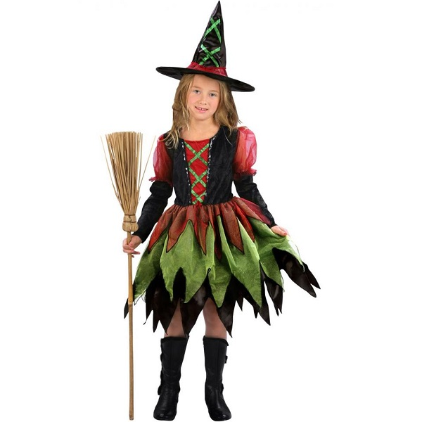 Witch Girl Costume - PartyNight