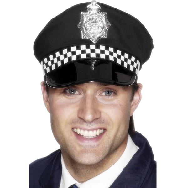 Chapéu Homem Polícia Inglês - PartyNight 8951498bf45