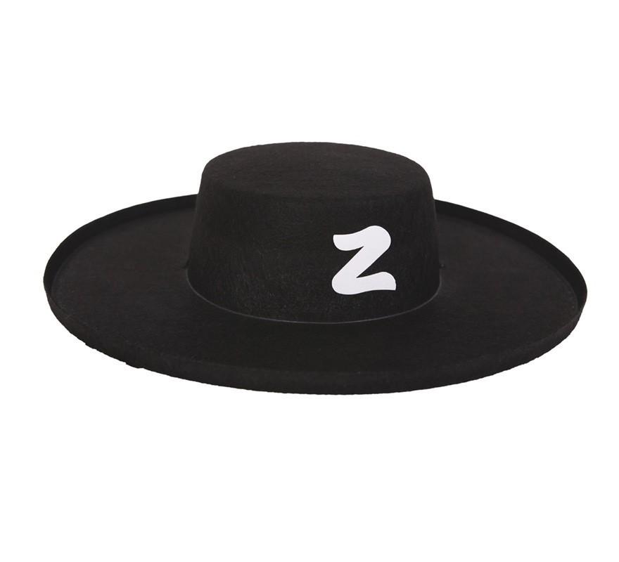 ec04bf1ae3f7f Chapéu Zorro de plástico - PartyNight