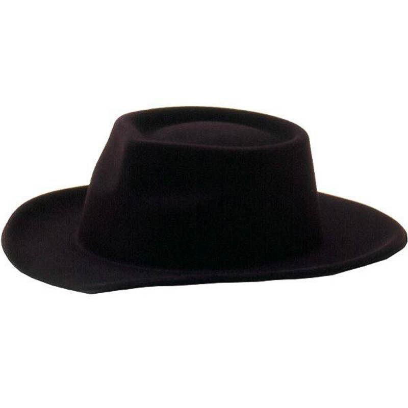 0abe8d12189b2 Chapéu Cowboy de plástico forrado c tecido - PartyNight