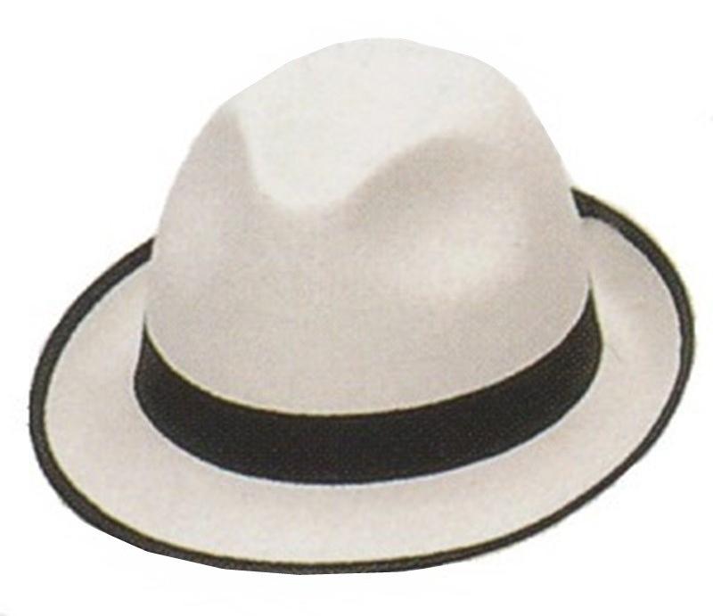 Chapéu Gangster com rebordo preto - PartyNight bc808a70a90