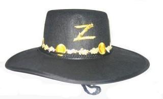 Chapéu Zorro de luxo - PartyNight 0f0c31b6cd8