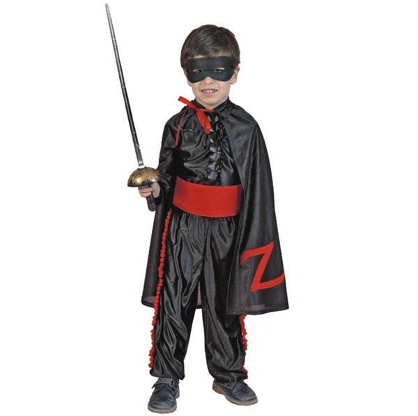ca7eabc3d Fato Menino Zorro 2-4A