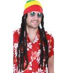 Peruca Homem c Rastas Gorro Jamaicano 557c0ec8f75