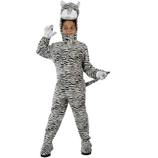 White Tiger kid costume  sc 1 st  PartyNight & White Tiger kid costume - PartyNight