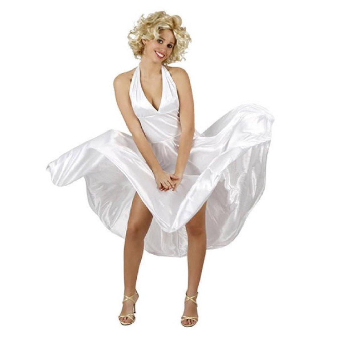 8281ac9a7 Fato Mulher Marilyn Monroe