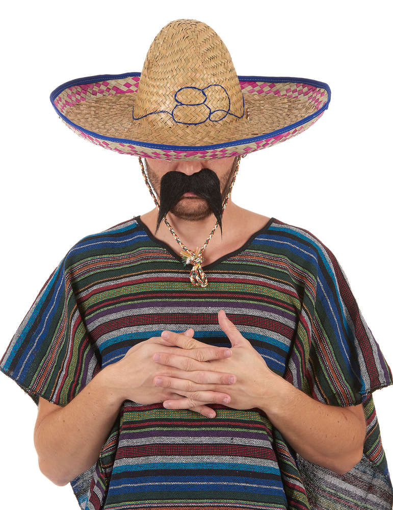 Chapéu Mexicano com tecido 50CM - PartyNight e261d7eaaf4